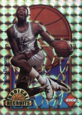 1996 Collector's Edge Radical Recruits-Holofoil Kobe  Bryant #3 Basketball Card
