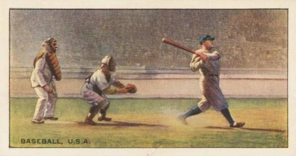 1935 Edward Ringer & Bigg Tobacco Babe Ruth #25 Baseball Card