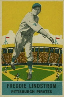 1933 DeLong Fred Lindstrom #11 Baseball Card