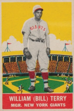 1933 DeLong Bill Terry #4 Baseball Card
