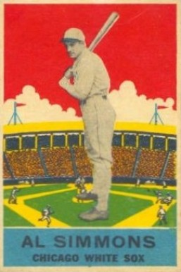 1933 DeLong Al Simmons #2 Baseball Card