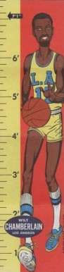1969 Topps Rulers Wilt Chamberlain #11 Basketball Card