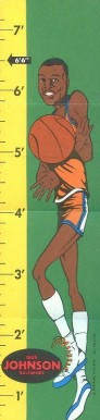 1969 Topps Rulers Gus Johnson #18 Basketball Card