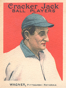 1915 Cracker Jack Honus Wagner #68 Baseball Card