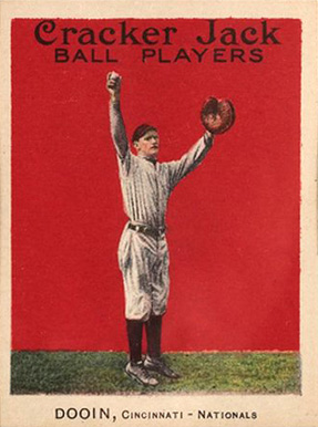 1915 Cracker Jack Dooin, Cincinnati-Nationals #38 Baseball Card