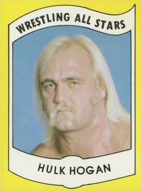 1982 Wrestling All Stars Series A Hulk Hogan #2 Non-Sports Card
