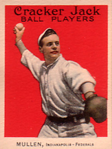 1914 Cracker Jack George Mullin #24 Baseball Card