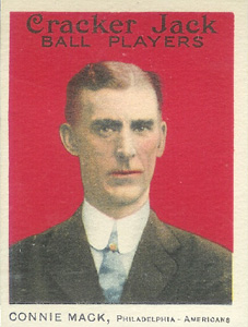 1914 Cracker Jack Connie Mack #12 Baseball Card
