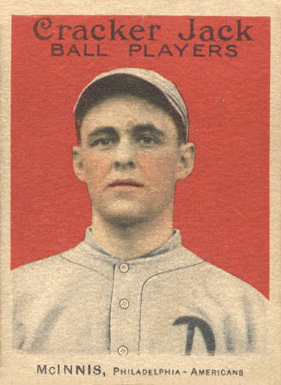 1914 Cracker Jack Stuffy McInnis #10 Baseball Card