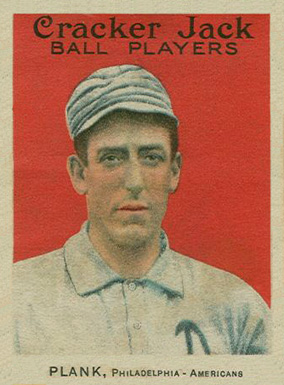 1914 Cracker Jack Eddie Plank #6 Baseball Card