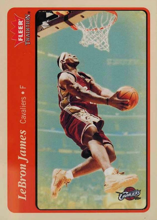 2004-05 Fleer Showcase #11 LeBron James