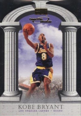 1997 Skybox Premium Competitive Advantage Kobe Bryant #2 Basketball Card