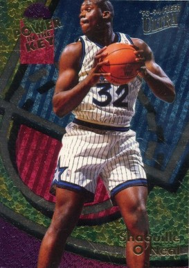 1993 Ultra Power in the Key Shaquille O'Neal #7 Basketball Card