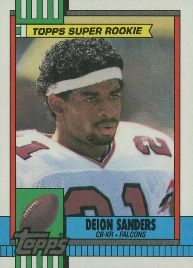 Deion Sanders Hall Of Fame Football Cards