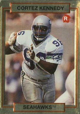 1990 Action Packed Rookie Update Cortez Kennedy #39 Football Card