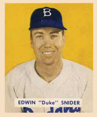 1949 Bowman Duke Snider #226 Baseball Card