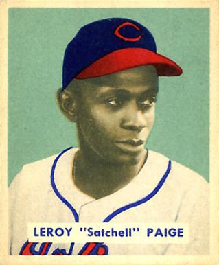 1949 Bowman Satchel Paige #224 Baseball Card