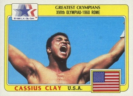 1983 Topps Olympians Muhammad Ali #92 Boxing & Other Card