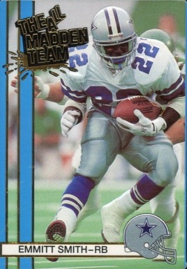 1990 Action Packed All-Madden  Emmitt Smith #9 Football Card