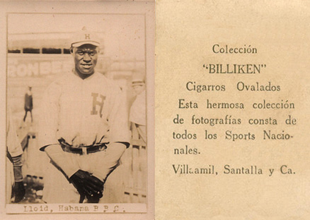 1923 Billiken Pop Lloyd #34 Baseball Card