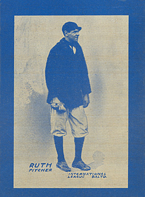 1914 Baltimore News Orioles Babe Ruth #9 Baseball Card