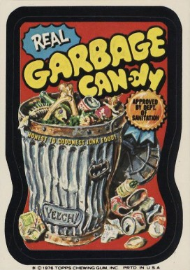 1977 Topps Wacky Packs 16th Series Real Garbage Candy # Non-Sports Card