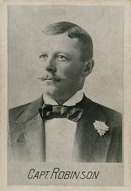 1894 Alpha Photo Engraving Wilbert Robinson #14 Baseball Card
