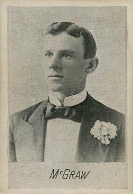 1894 Alpha Photo Engraving John McGraw #11 Baseball Card