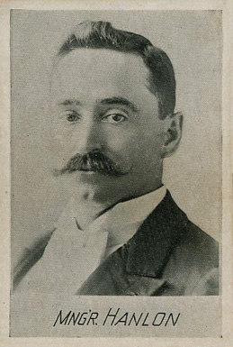 1894 Alpha Photo Engraving Ned Hanlon #6 Baseball Card