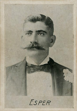 1894 Alpha Photo Engraving Duke Esper #4 Baseball Card
