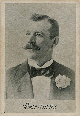 1894 Alpha Photo Engraving Brouthers #3 Baseball Card