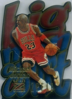 1996 Skybox Z-Force BMOC Zpeat Michael Jordan #4 Basketball Card