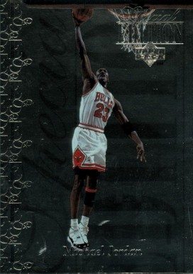 1995 Upper Deck Special Edition Michael Jordan #100 Basketball Card