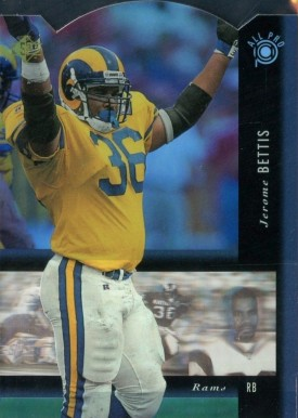 Jerome Bettis Hall Of Fame Football Cards