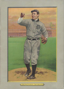 1911 Turkey Reds Wild Bill Donovan #12 Baseball Card