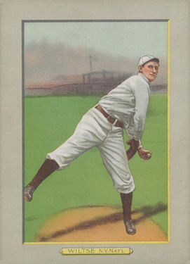 1911 Turkey Reds Hooks Wiltse #41 Baseball Card