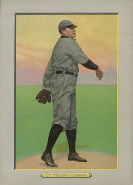 1911 Turkey Reds Cy Young #42 Baseball Card