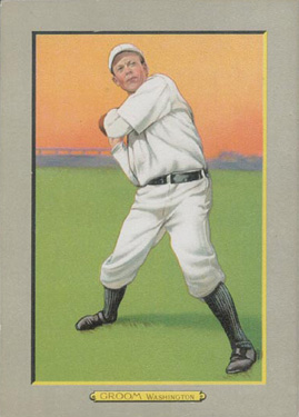 1911 Turkey Reds Bob Groom #96 Baseball Card