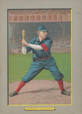 1911 Turkey Reds Dode Paskert #112A Baseball Card