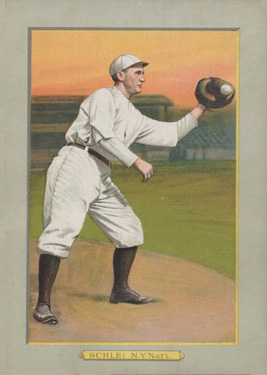 1911 Turkey Reds Admiral Schlei #115 Baseball Card