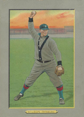 1911 Turkey Reds Owen Wilson #126 Baseball Card
