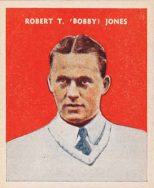 1932 U. S. Caramel Bobby Jones #3 Boxing & Other Card