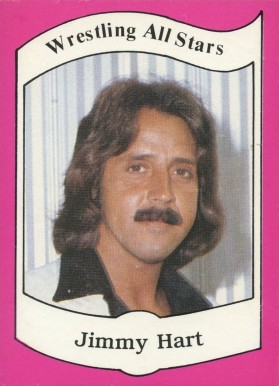 1983 Wrestling All-Stars Jimmy Hart #13 Non-Sports Card