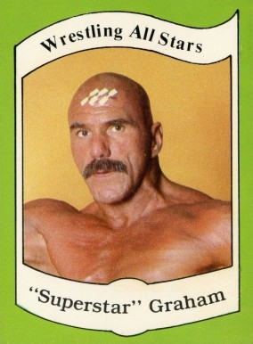 1983 Wrestling All-Stars Billy Graham #1 Non-Sports Card