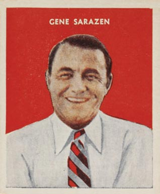 1932 U. S. Caramel Gene Sarazen #9 Boxing & Other Card
