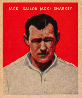 1932 U. S. Caramel Jack Sharkey #25 Boxing & Other Card