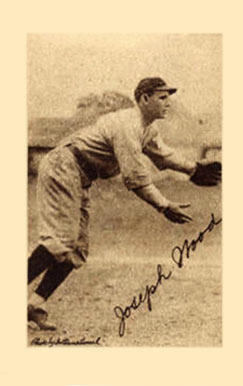 1923 Willard Chocolate Joe Wood #177 Baseball Card