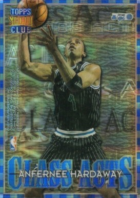 1996 Stadium Club Class Acts Atomic Refractor Hardaway/Wright #9 Basketball Card