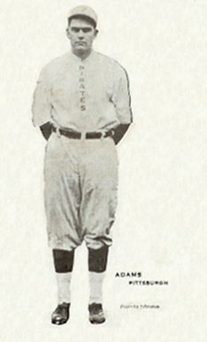 1913 Voskamp's Coffee Pirates Babe Adams #1 Baseball Card