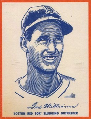 1951 Wheaties (1951) Ted Williams # Baseball Card